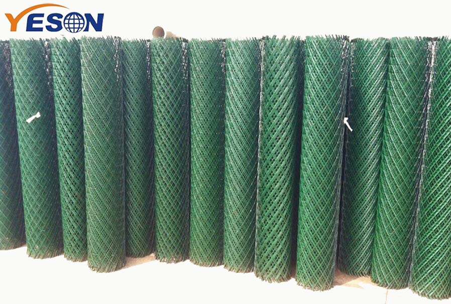 PVC coated expanded mesh
