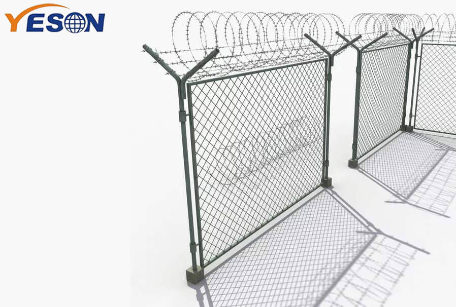 3D Curved Fence