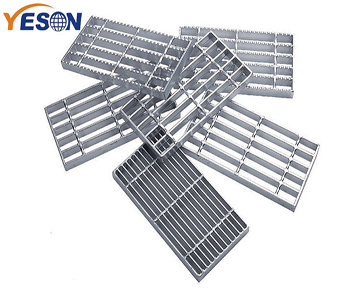 Steel grid sheet fixing method