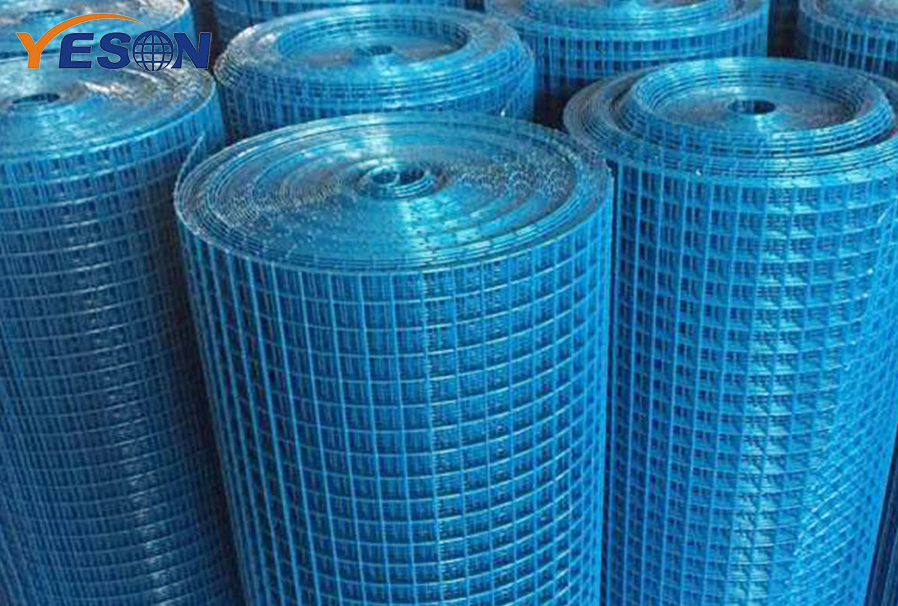 Weaving and characteristics of PVC welded mesh